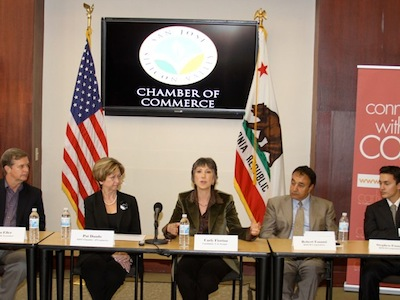 Fiorina at the San Jose Chamber of Commerce